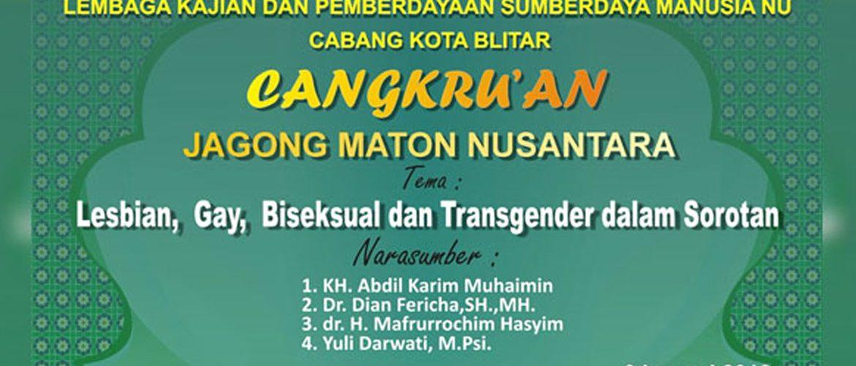 Cangkrukan Jagong Maton Nusantara Bahas LGBT