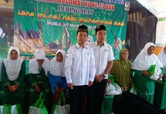 LAZISNU Kota Blitar Memberi Santunan Dhuafa