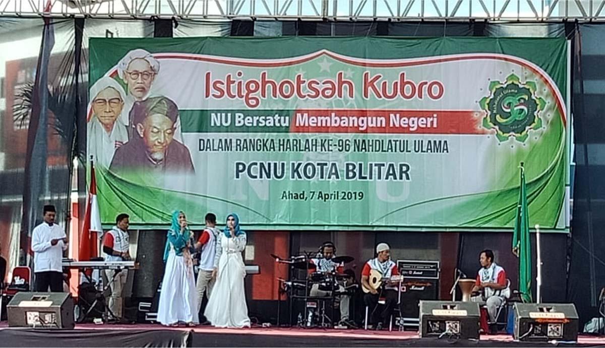 PCNU Kota Blitar Gelar Istigosah Kubro Demi Pemilu Damai