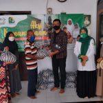Aksi Kemanusiaan di Tengah Pandemi, LAZISNU Kota Blitar Terus Berbagi