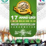 Maulid Akbar MWC NU Sananwetan Wujud Kebangkitan Jam'iyyah